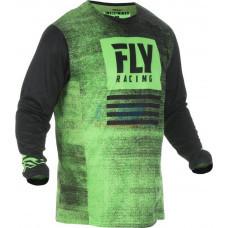 Джерси для мотокросса/эндуро FLY RACING KINETIC NOIZ (Зеленый/Черный)
