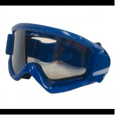 Очки для мотокросса ATAKI HB-319 синие глянцевые
