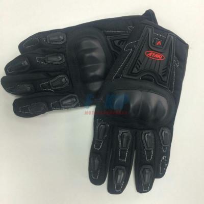 Перчатки текстильные ATAKI SC-112 (Черные)
