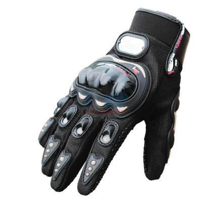 Перчатки текстильные Pro-Biker (Черные)