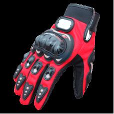 Мотоперчатки текстильные Pro-Biker (Красные)